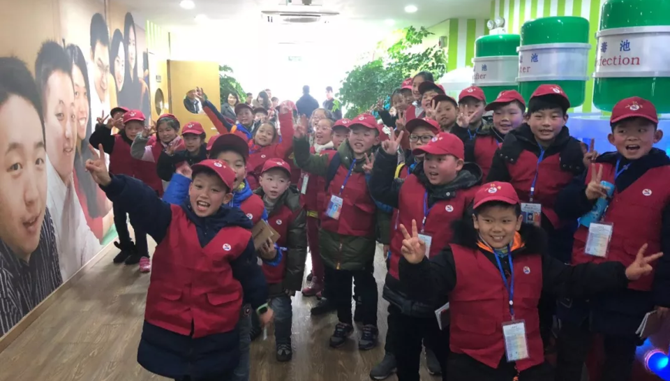 Veolia, student reporters, Veolia Changzhou Technical Center