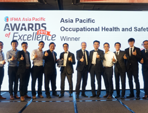 Asia Pacific Best Occupational Health and Safety Award in the Asia Pacific Facility Management Awards 2019 Presentation Ceremony